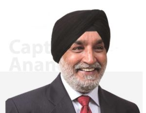 captain anand